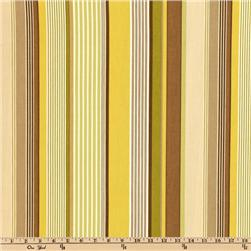 P Kaufmann Indoor/Outdoor Cool  Stripe Chartreuse