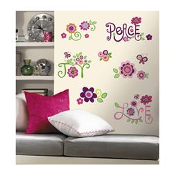Love Joy Peace Wall Decals