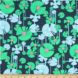 Amy Butler Glow Wind Flower Dusk Fabric