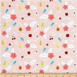 Riley Blake Sweet Orchard Fruit Pink