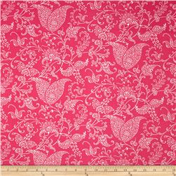 Premier Prints Small Paisley Candy Pink Fabric