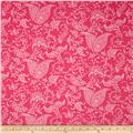 Premier Prints Small Paisley Candy Pink