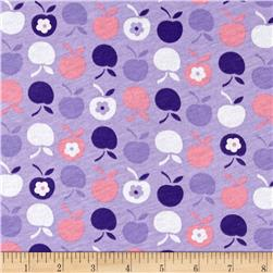 T-Shirt Jersey Knit Apples Galore Multi