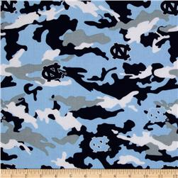 Collegiate Cotton Broadcloth The University of North Carolina Camouflage