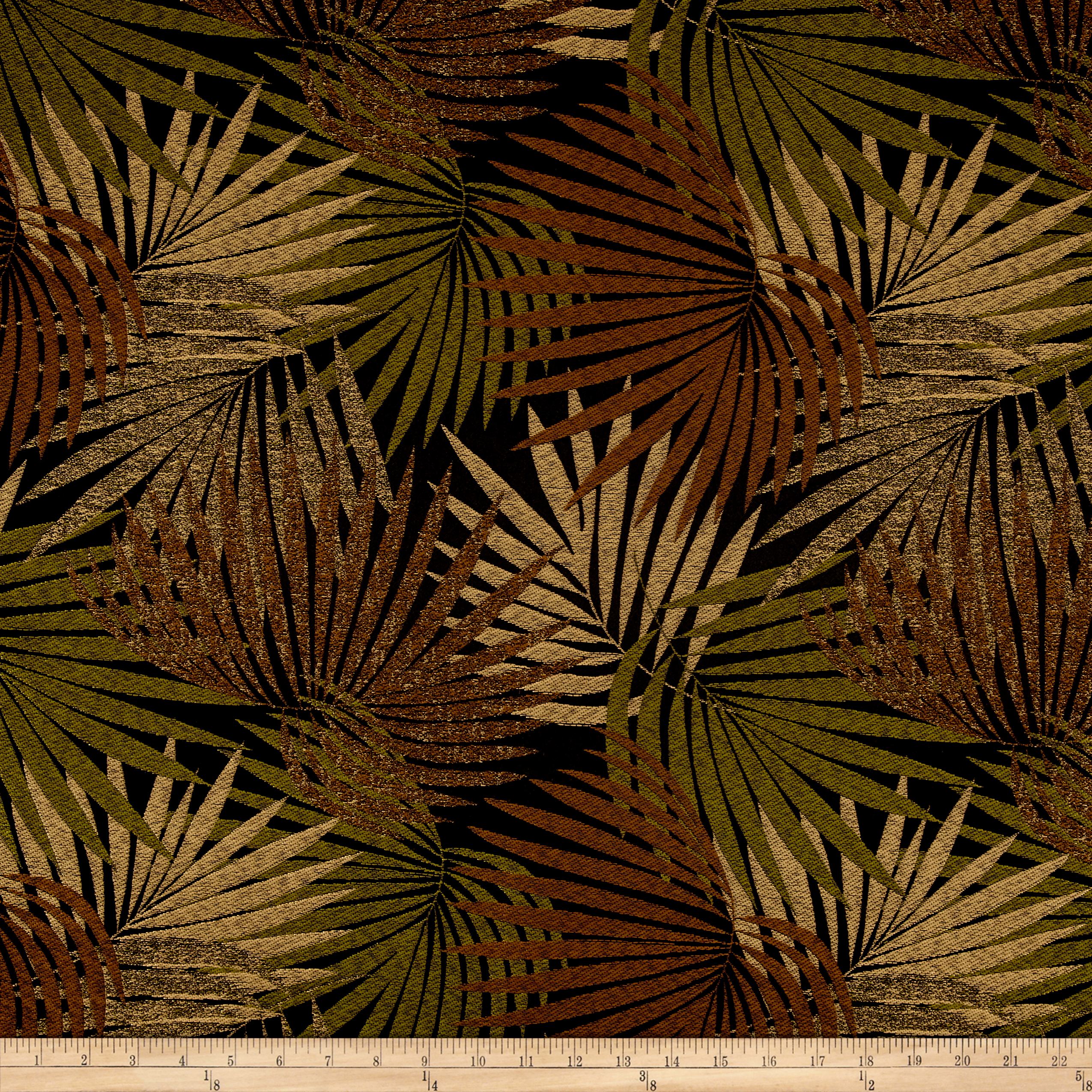 Tempo Island Tropic Jacquard Forrest Fabric by Tempro in USA