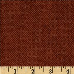 Essentials Criss-Cross Texture Brown Fabric