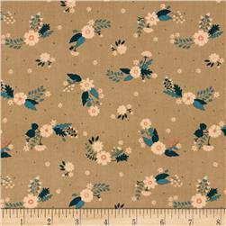Ciana Bodini Cotton Flowers Taupe