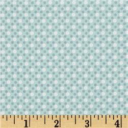 Michael Miller Dim Dots Mist Fabric
