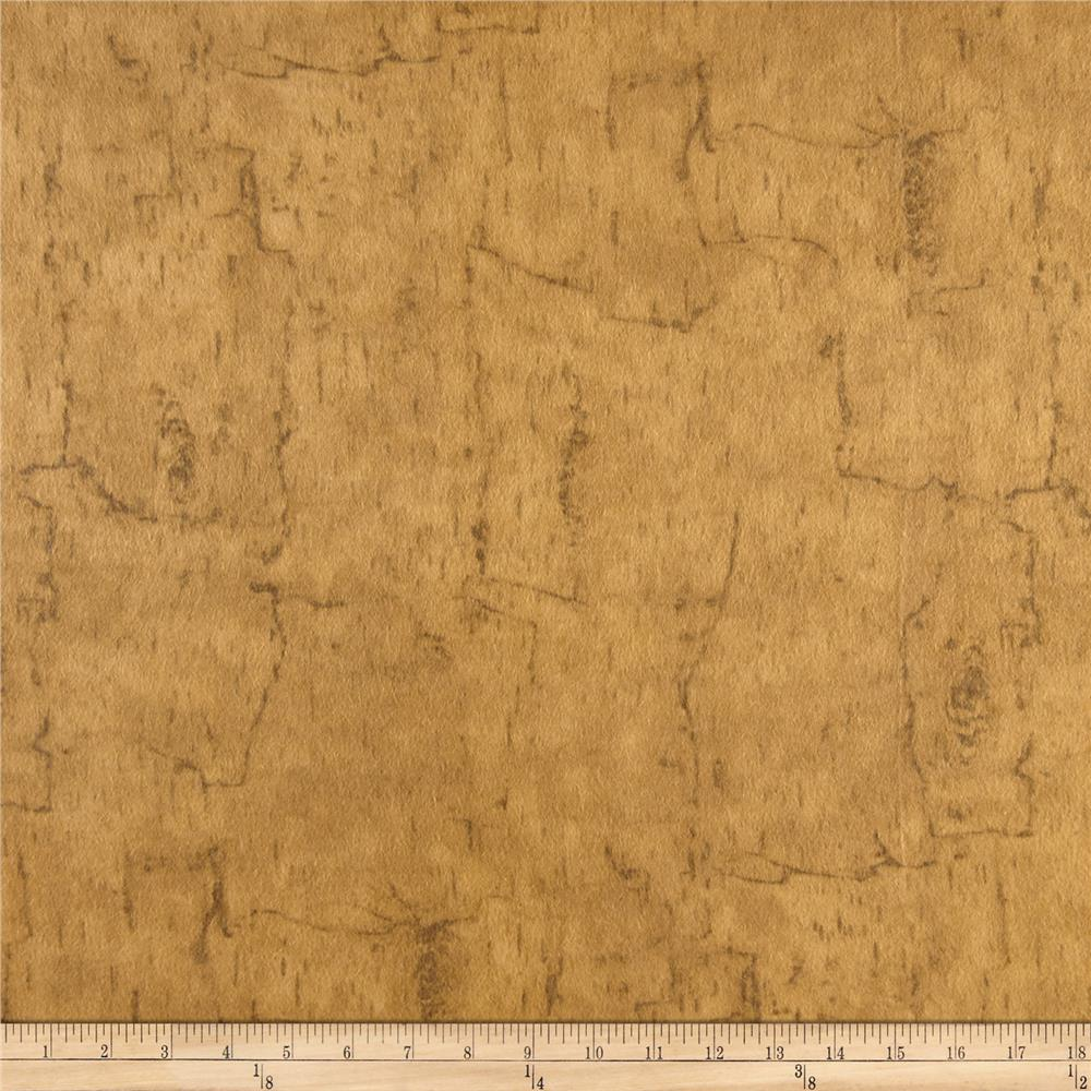Moda Endangered Sanctuary Flannel Birch Bark Golden Oak