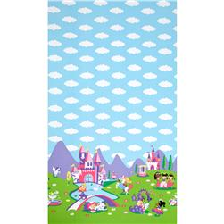Michael Miller Princess Charming Panel Princess Fabric