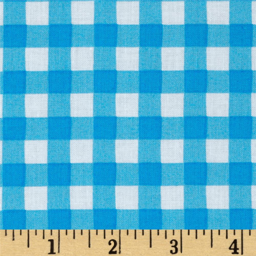 Simply Sweet Check Blue