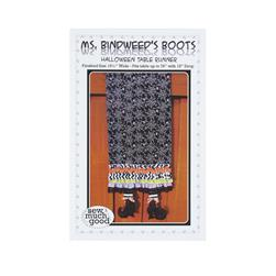 Sew Much Good Ms. Bindweeds Boots Tablerunner Pattern