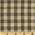 Yarn-Dyed Plaid Shirting Grey