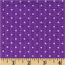 Tutti Fruitti Plisse Purple Dot
