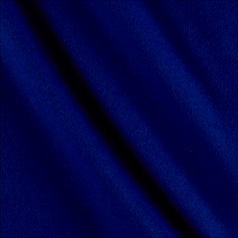 Solid Flannel Cobalt Fabric