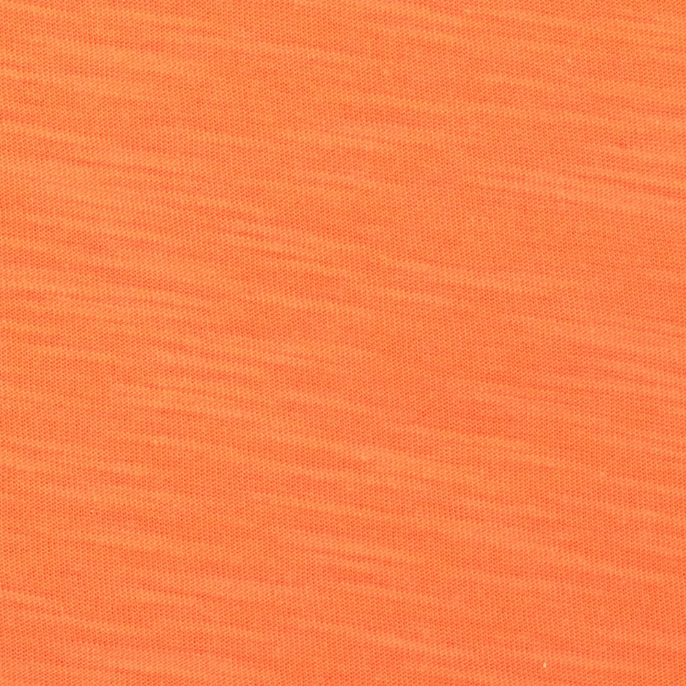Jersey Cotton Slub Knit Light Orange