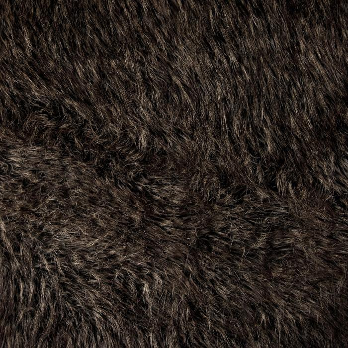 Faux Fur Desert Fox Grey