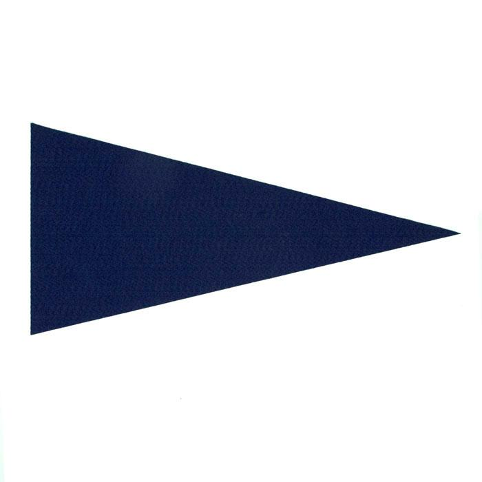 Varsity Pennant Felt Craft Cut Royal Blue