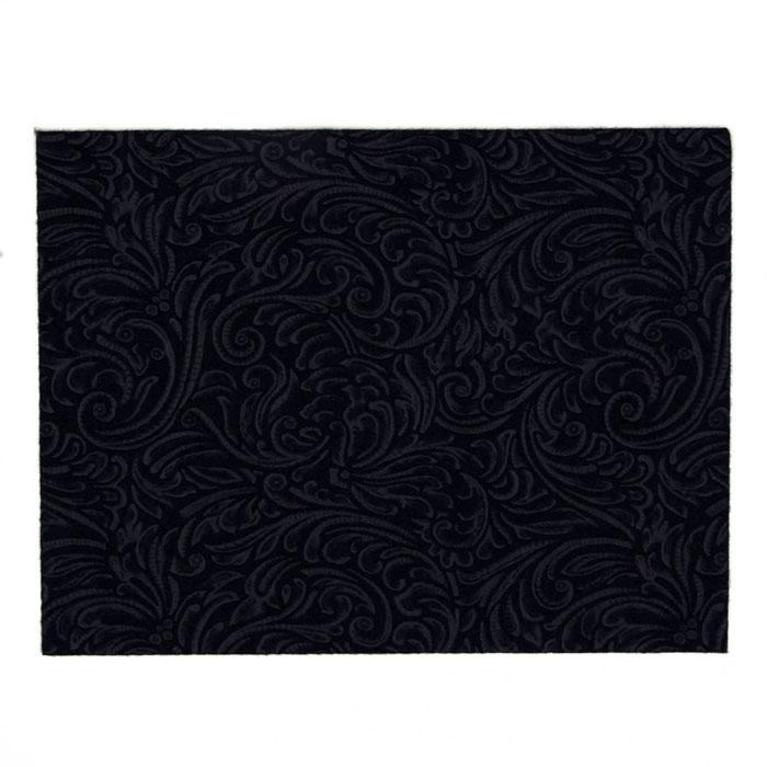 "Embossed Felt Galleria 9"" x 12"" Craft Cut Navy"