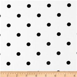 Trippy Dippie Domino Dot White