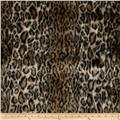 Faux Fur Ocelot Brown/Black