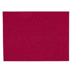 Glitter Felt 9'' x 12'' Craft Cut Fuchsia