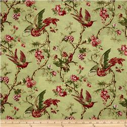 English Lane Medium Bird Floral Green