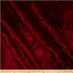 Faux Fur Luxury Shag Red