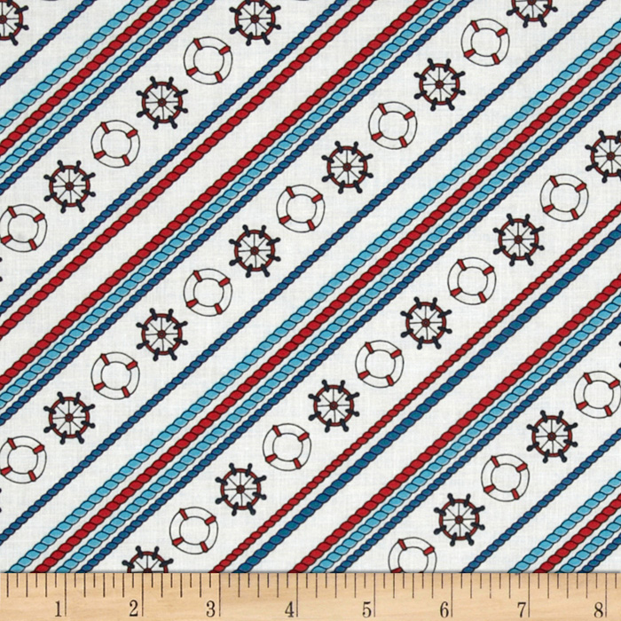 Regatta Diagional Rope Stripe Fabric