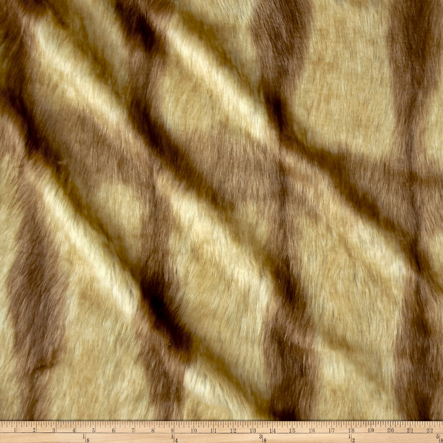 Fabric.com coupon: Shannon Lux Fur Fox Tail Gold Fabric