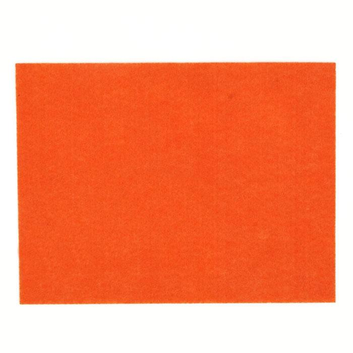 "Friendly Felt 9"" x 12"" Craft Cut Orange"