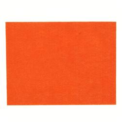 Friendly Felt 9'' x 12'' Craft Cut Orange
