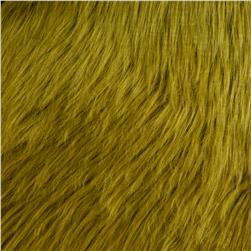 Faux Fur Luxury Shag Olive