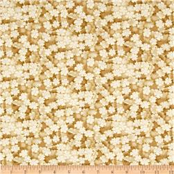 Autumn Plume Cherry Blossoms Mini Floral Beige
