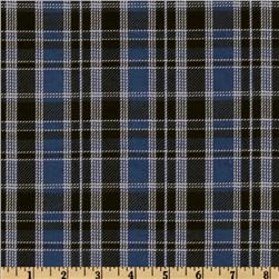 Plaid Flannel Blue