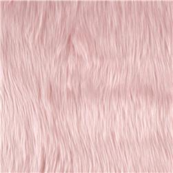 Faux Fur Luxury Shag Baby Pink