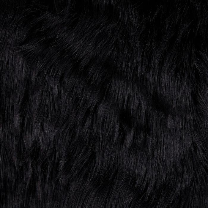 Shannon Faux Fur Arctic Fox Black