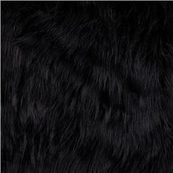 Faux Fur Arctic Fox Black