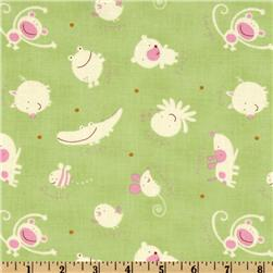 Baby Talk Animal Toss Green