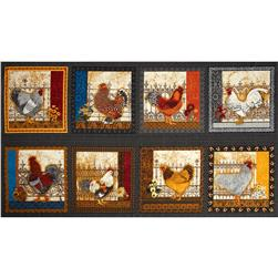 Prized Poultry Patchwork Chickens Black