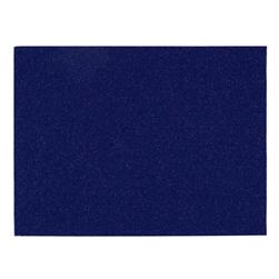 "Glitter Felt 9"" x 12"" Craft Cut Royal Blue"