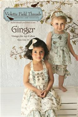 Violette Field Threads Ginger Dress and Top Pattern