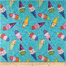 Cook's Helper Ice Cream Cones Turquoise