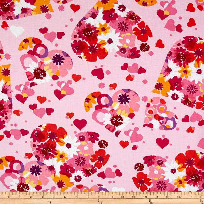 Valentine Abstract Floral Sorbet