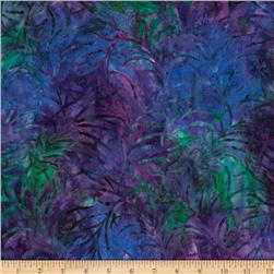 Tonga Batik Painted Lady Plume Vivid Purple