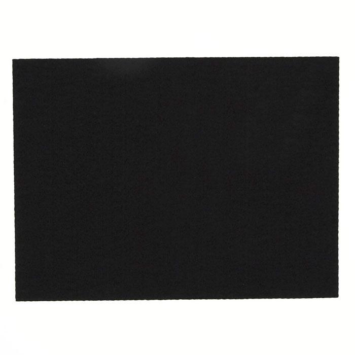 Friendly Felt 9'' x 12'' Craft Cut Black