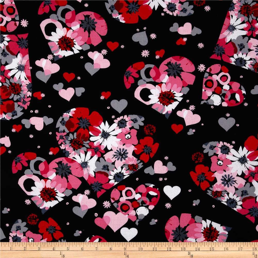 Valentine Abstract Flora Licorice