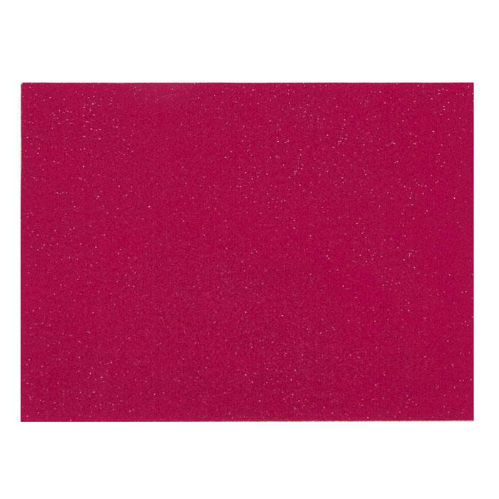 "Glitter Friendly Felt 9"" x 12"" Craft Cut Fuchsia"