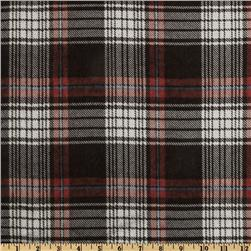 Misprint Plaid Flannel Red/Black/White