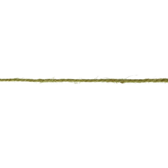 Twisted Burlap String Olive